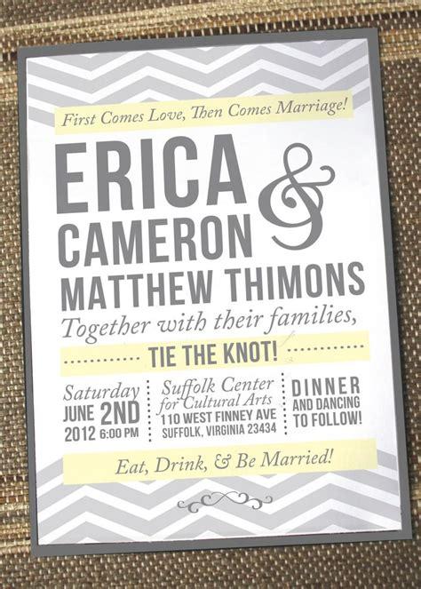 Unique Formal Wedding Invitations by Chevron Wedding Invitations Unique Wedding Invites