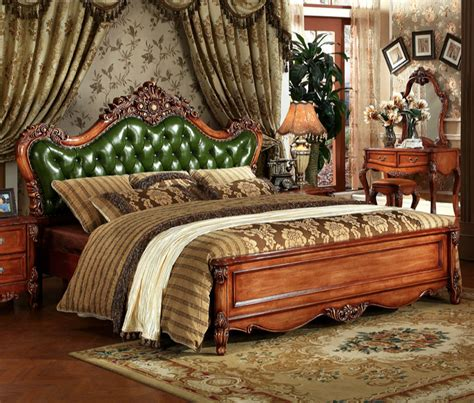 antique royal european style solid antiques bedroom furniture promotion shop for promotional