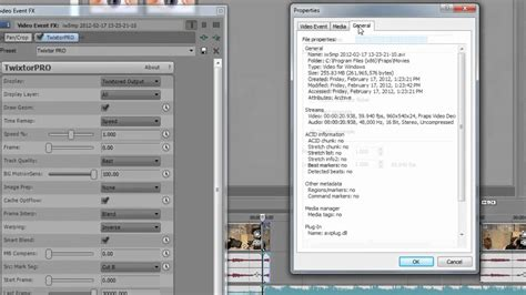sony vegas pro twixtor tutorial best twixtor settings for sony vegas no distortion