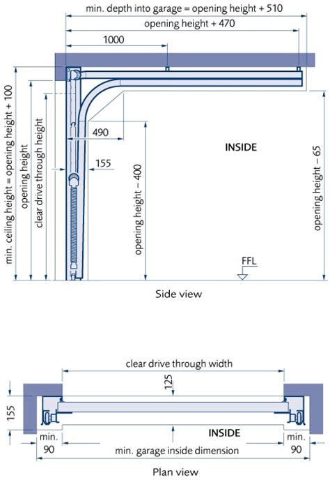 Minimum Dimensions For 2 Car Garage by Minimum Garage Dimensions Images Frompo 1