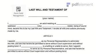 last will and testament word template free resumes templates for microsoft word 17 images