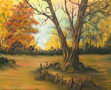 bob ross painting method bob ross method painting autumn palette woodburn