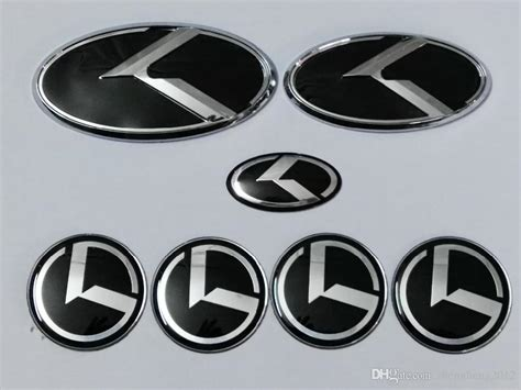 new kia emblem 2018 new black k logo badge emblem for kia optima k5 car