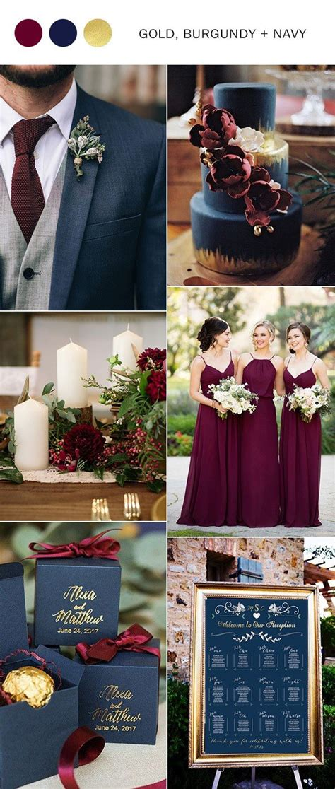 5 Wedding Color Ideas by Trending 5 Burgundy Wedding Color Ideas To