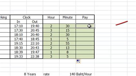 calculating overtime pay worksheets calculate overtime pay excel spreadsheet officegyan attendence sheet in excel avi youtubeif