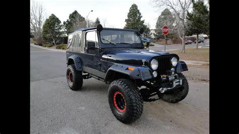 jeep scrambler custom jeep scrambler cj8 arb dana 44 v8 rock crawler custom