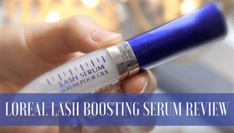Loreal Lash Serum l oreal lash boosting serum review is it a scam or legit