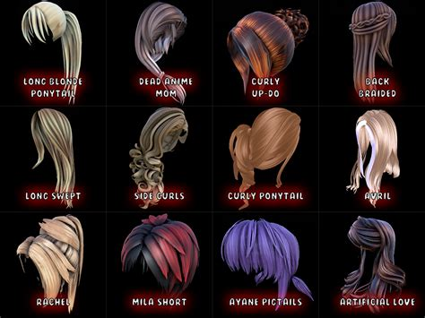 hairstyles ark survival cute hair mod great for role play servers general