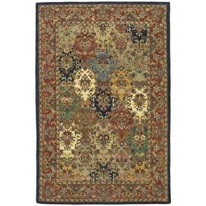Safavieh Multicolor Rug Shop Safavieh Heritage Multicolor And Burgundy Rectangular