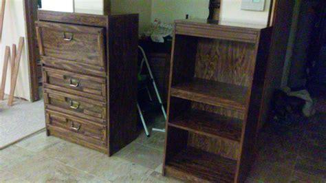 Dresser Bookshelf Combo by Chest Dresser Bookcase And Combination Chest Desk