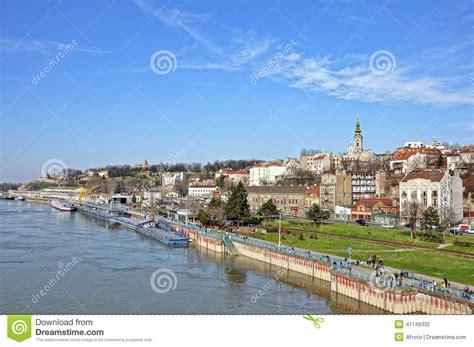 river city landscaping panorama of belgrade stock photo image 41146332