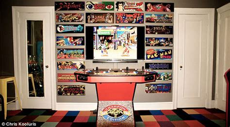 vs arcade obsession a turned bedroom into an