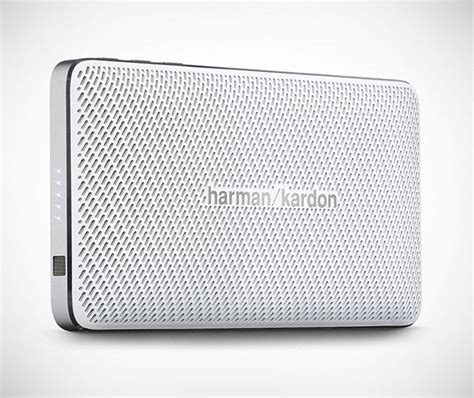 Speaker Harman Kardon Esquire Mini sophisticated portable speakers harman kardon esquire mini