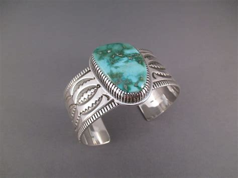 curtis royston turquoise bracelet navajo jewelry
