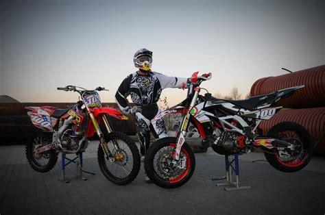 dekor motocross ktm lc4 dekor selber machen motorrad bild idee