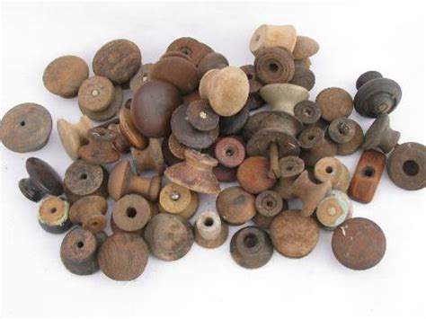 Wooden Knobs And Pulls by Antique Hardware Lot Primitive Wood Drawer Pulls
