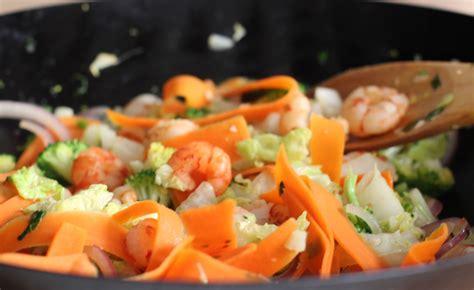 como cocinar en el wok wok para verduras lecuiners