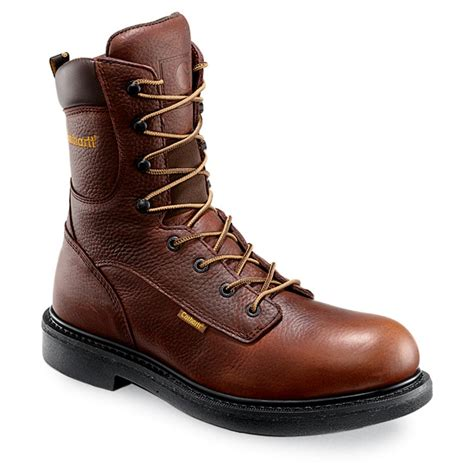 mens carhartt boots s carhartt 174 3707 8 quot work boot brown 147926 work