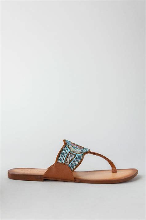 indian summer beaded sandal s