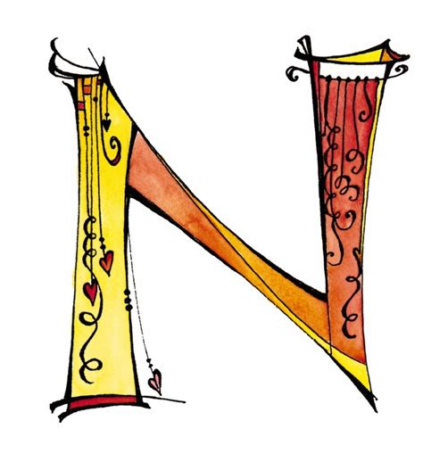 Cool Letter N Designs