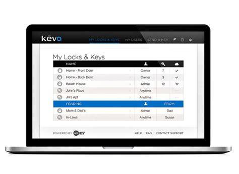 wireless door locks kwikset kevo lock preview consumer