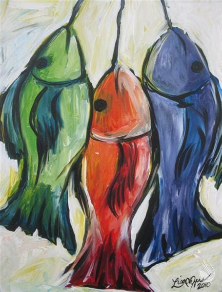 paint with a twist hammond la fish on a string sunday june 19 2016 painting with a