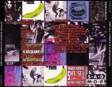 Nirvana 1cd 1989 nirvana complete sub pop singles 1cd giginjapan