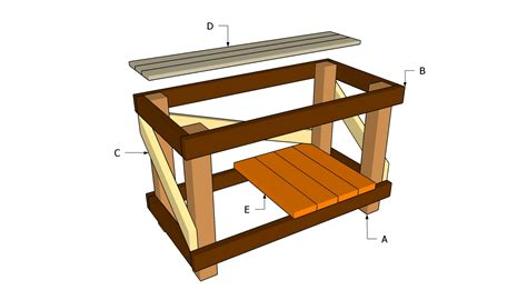 shed benches zekaria building shed workbench