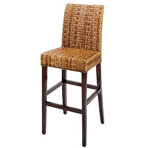 Banana Leaf Bar Stool by Gold Notes Take A Seat