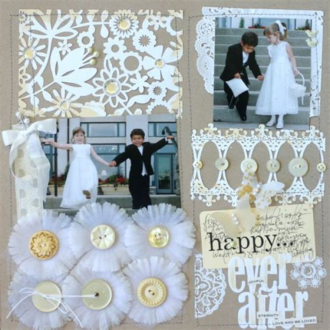 Wedding Scrapbooking Ideas by Layout Roundup Ideas For Scrapbooking Weddings