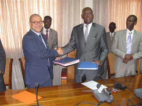 firma dell firma dell accordo concernente il progetto d appoggio al