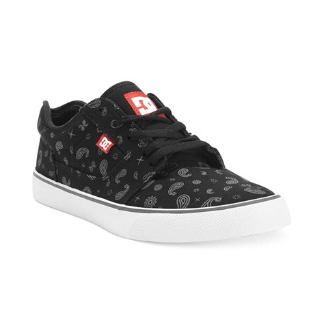 Dc Mens Tonic S dc shoes tonic sp sneakers in black for black white