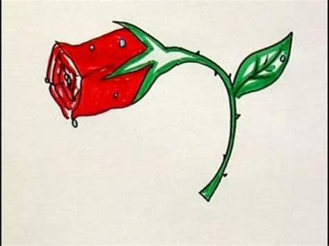 imagenes de rosas marchitas c 243 mo se dibuja una rosa youtube