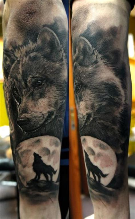 Tattoo Arm Wolf | tatuagens de lobo wolf tattoos tattoos my