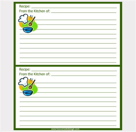recipe card template for word 3x5 17 recipe card templates free psd word pdf eps