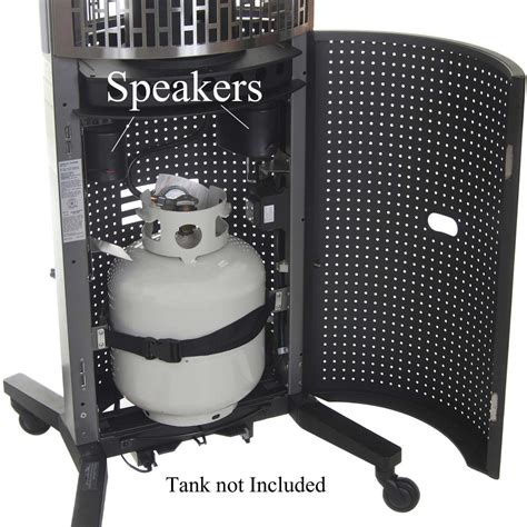 Totum Patio Heater Barbeques Galore Totum Hls 35 000 Btu Propane Gas Outdoor Patio Heater Shopperschoice