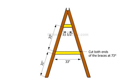 swing set angles how to build an a frame swing howtospecialist how to