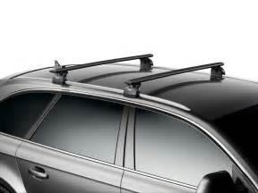 thule aero black wingbars roof rack bars mercedes e class