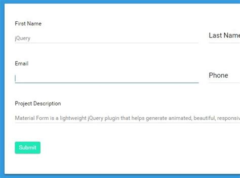 material design form html easy form validation plugin for bootstrap 4 jquery s