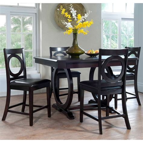julian place vanilla counter height countertop dining room sets abaco counter height 5 piece