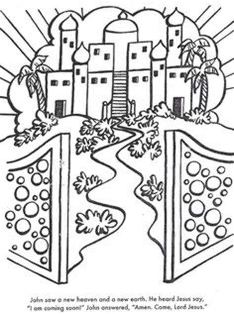 coloring pages jesus going to heaven 1000 images about book of revelation on book