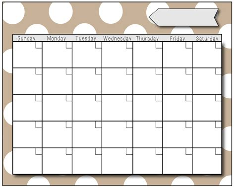 blank calendar template for fill in calendar 2016 printable calendar template 2016