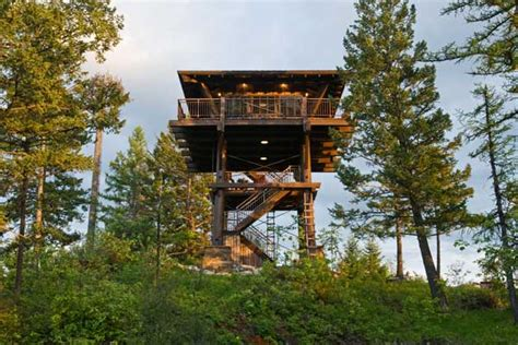 Fire Tower House | fire lookout towers