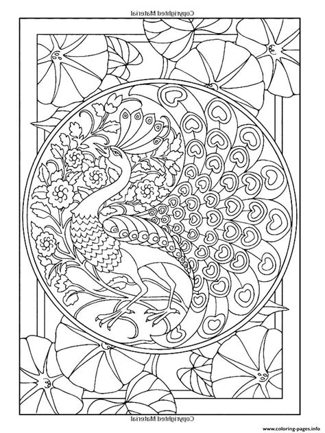 Cool Coloring Pages For Adults Peacock Coloring Home Cool Coloring Pages For