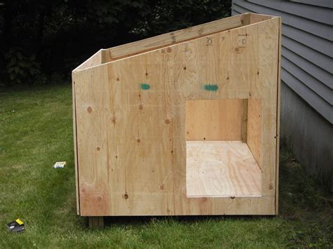 free slant roof dog house plans slanted roof dog house plans fresh claypool dog house