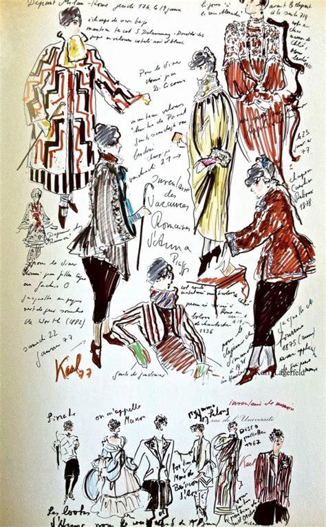 sketchbook fashion lagerfeld s sketchbook karl lagerfeld fashion sketchbook