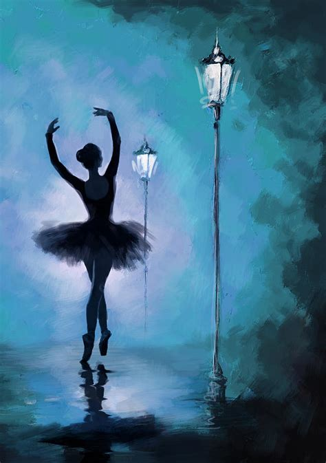 Little Mermaid Home Decor by Ballet In The Night Painting By Corporate Art Task Force