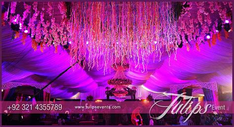 Enchanted mehndi stage dance floor roof decoration ideas in Pakistan   Tulips Event Management