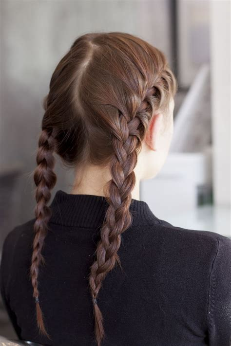 two big plaits hairstyle 17 best ideas about two french braids on pinterest two