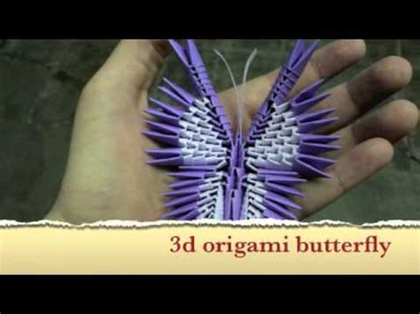 How To Make A 3d Origami Butterfly - how to make a 3d origami butterfly tutorial coming soon